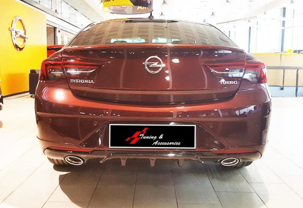 Opel Insignia 2017 - Difüzör, OPC Line St., +Egz. Ucu (Krom), P.