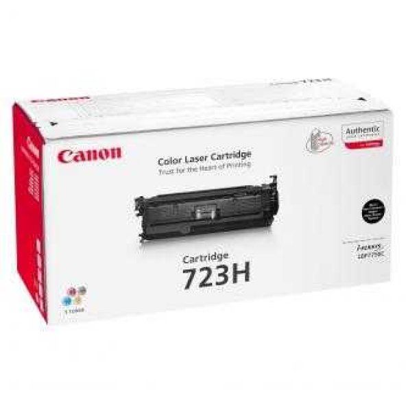 Canon CRG-723H BK Orjinal Siyah Toner