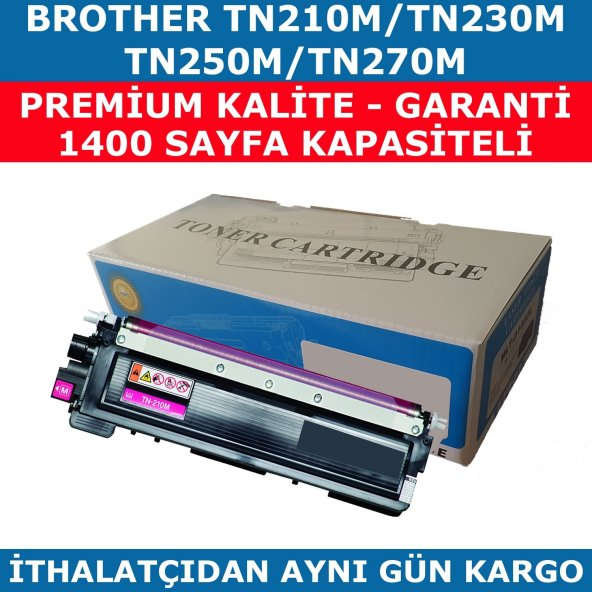 BROTHER TN-210 KIRMIZI MUADİL TONER TN-230 TN-250 TN-270