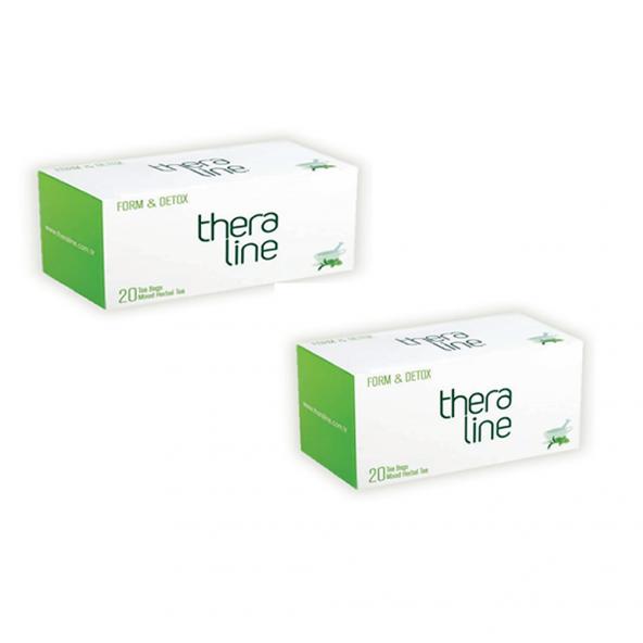 TheraLine Form & Detox Bitkisel Çay 2 kutu 40 adet Özel Fiyat
