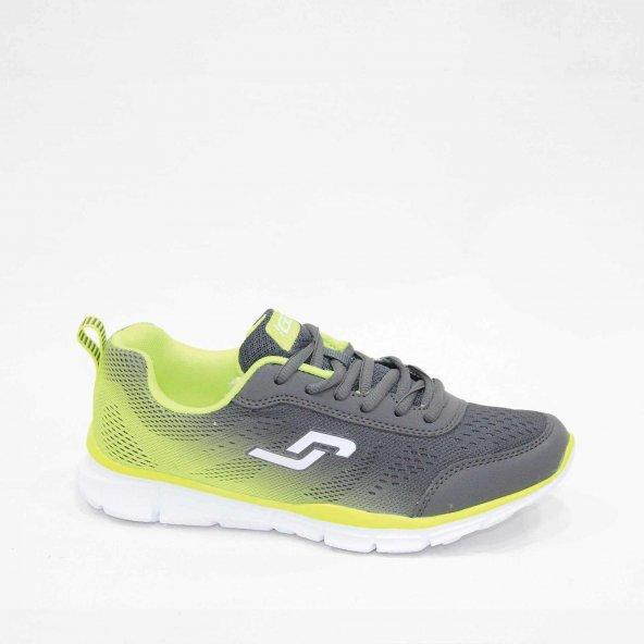 Jump 15206-D Gri Yeşil Spor Ayakkabı