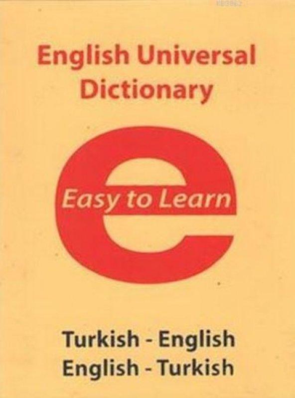 English Universal Dictionary - Easy to Learn Evrensel İletişim Ya