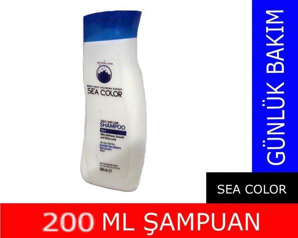 Sea Color Şampuan 200ml Günlük Bakım
