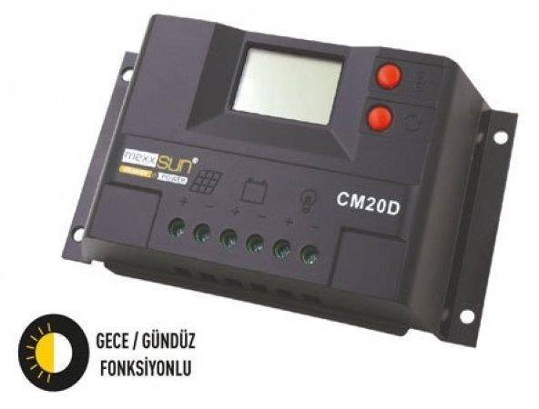 10 Amper Solar Şarj Kontrol Cihazı Regülatör Lcd Mexxsun