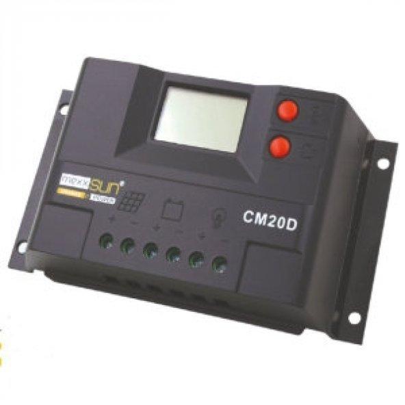 20 Amper Solar Şarj Kontrol Cihazı Regülatör Lcd Mexxsun