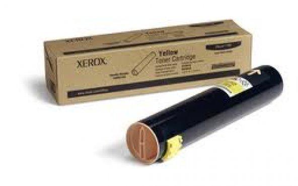 XEROX 106R01162 PHASER 7760 SARI TONER ORJİNAL 25.000 SAYFA