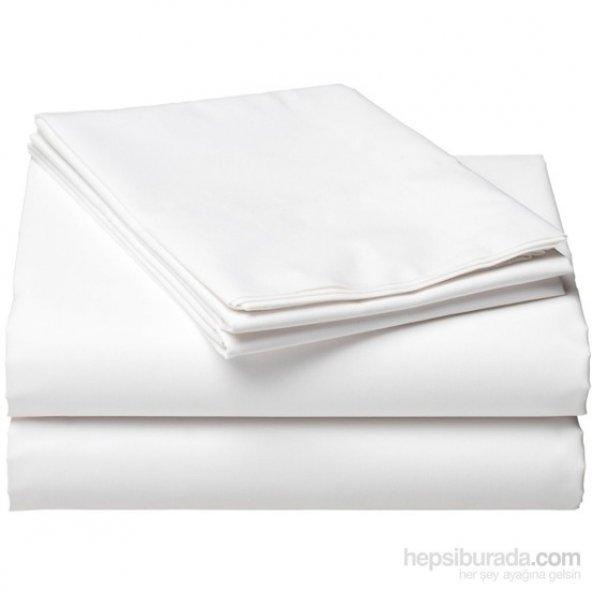 akfil kumaş beyaz düz renk çarşaflık