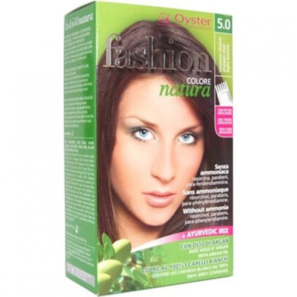 Fashion Colore Natura Saç Boyası 5.0 Light Brown