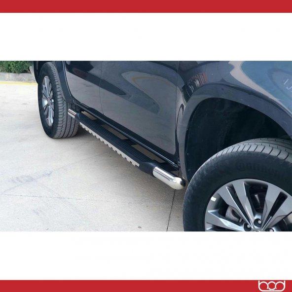 Mercedes X Class Poli-Krom Yan Basamak 2017-Sonrası Bod