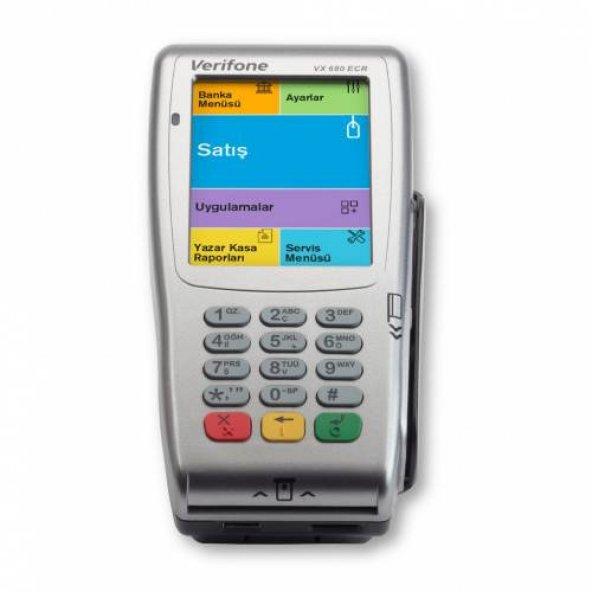Verifone VX680 ECR+Yeni Nesil MOBİL Yazar Kasa Pos YENİ