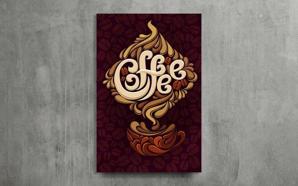 Kahve Keyfi Dekoratif Kanvas Tablo