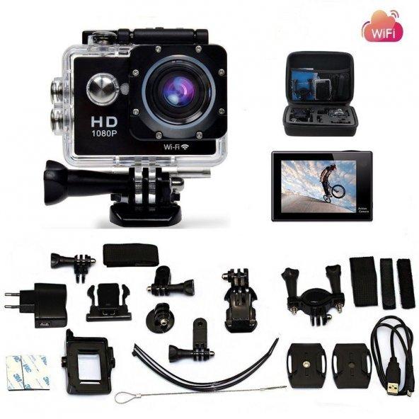 Legazone WIFI 2.0 12MP HD 1080P 170Wide Sports Camera Action
