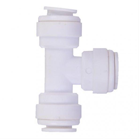 WaterGold Su Arıtma T Bağlantı Nipeli 1/4 inç Quick