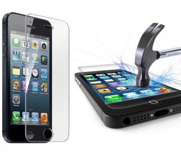 iPhone 5 5S Kırılmaz Cam Temperli Ekran Koruyucu