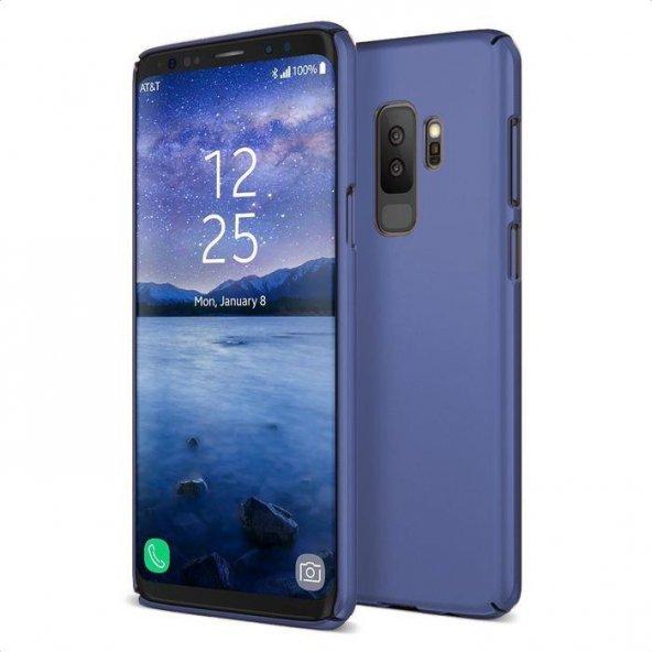 Samsung Galaxy S9 Plus Slimline Lacivert Kılıf Arka Koruyucu Kapak