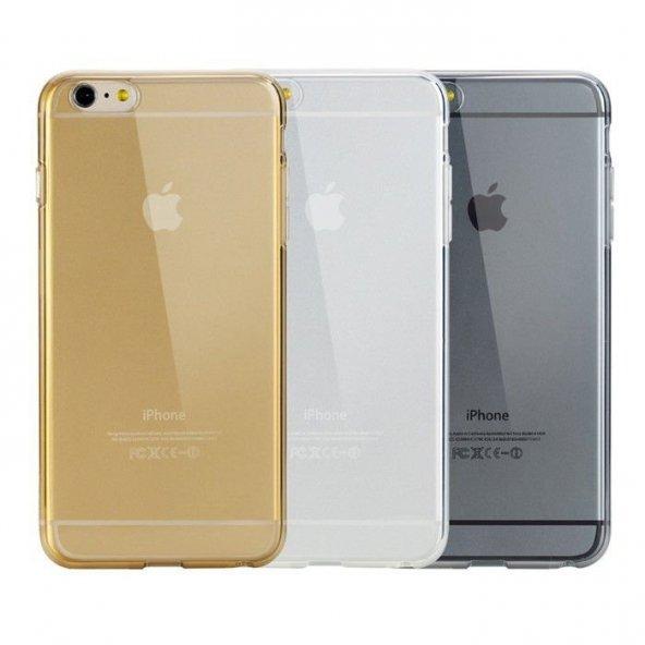 Apple iPhone 6 6S Plus şeffaf Silikon Kılıf Arka Koruyucu Kapak