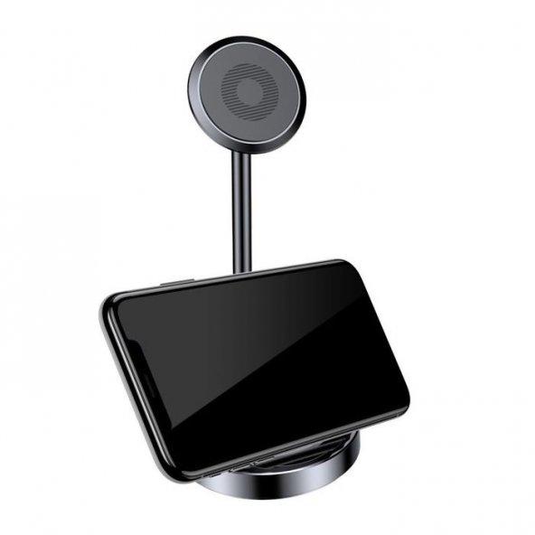 Baseus Masaüstü Telefon Tutucu Siyah Stand