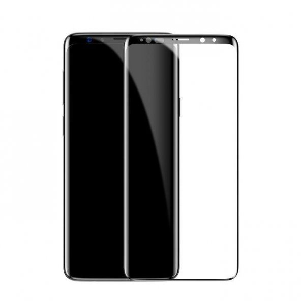 Baseus Arc Samsung Galaxy S9 Kavisli Ekran Koruyucu