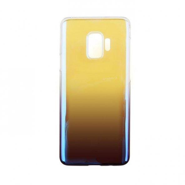 Baseus Glaze Samsung Galaxy S9 Mor Kılıf Arka Koruyucu Kapak