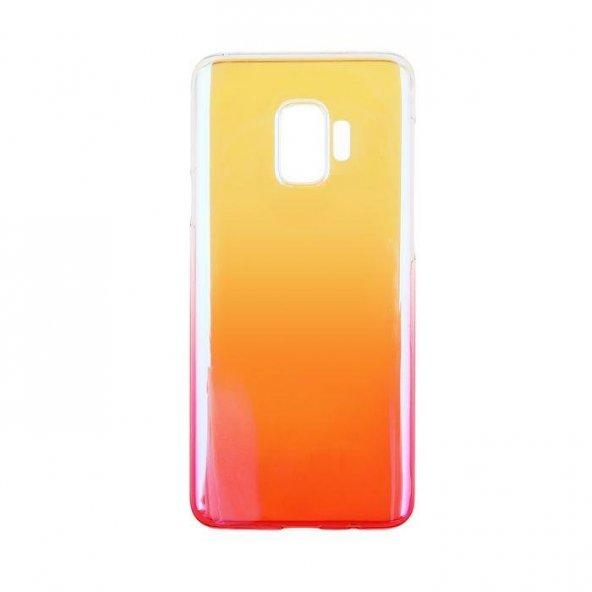 Baseus Glaze Samsung Galaxy S9 Pembe Kılıf Arka Koruyucu Kapak