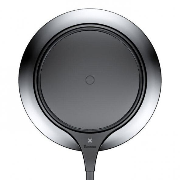 Baseus Metal iPhone Wireless Hızlı Siyah Şarj Cihazı 7.5w