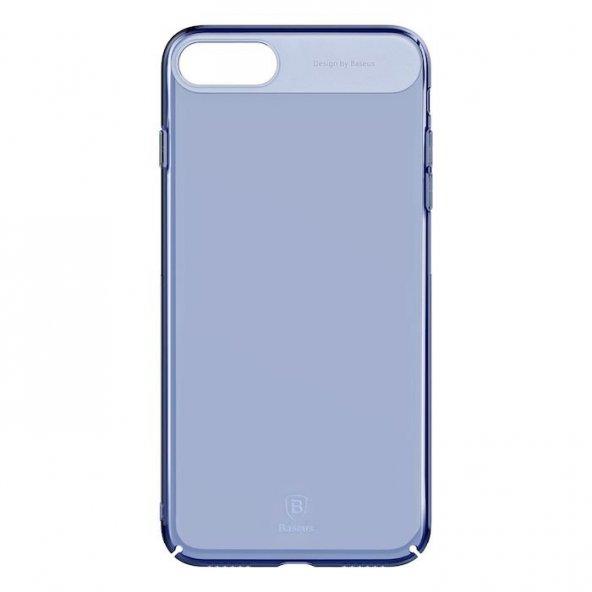 Baseus Sky Mavi iPhone 7 Plus - iPhone 8 Plus Kılıf Arka Koruyucu Kapak
