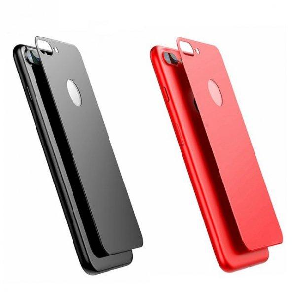 iPhone 8 3D Arka Cam Koruyucu + Ön Ekran Koruyucu