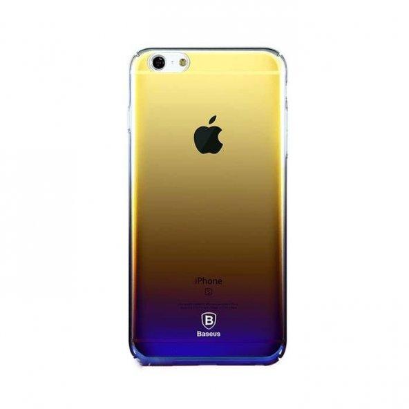 Baseus Glaze Mor iPhone 6 6S Kılıf Arka Koruyucu Kapak