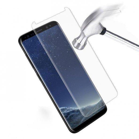 Samsung Galaxy S9 Plus Kavisli Ekran Koruyucu Şeffaf