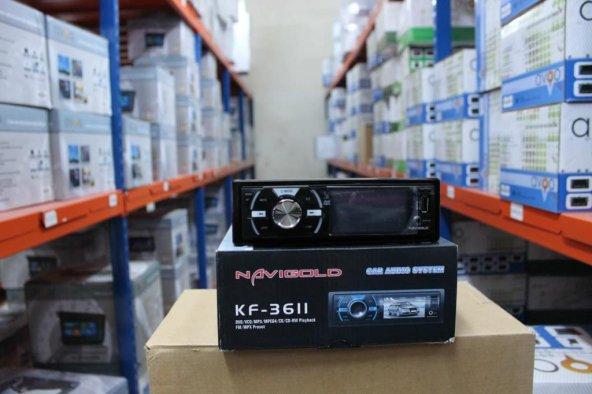 USB SD DVD MP4 OYNATABILEN NAVIGOLD KF 3611 GERI GORUS KAMERASI B