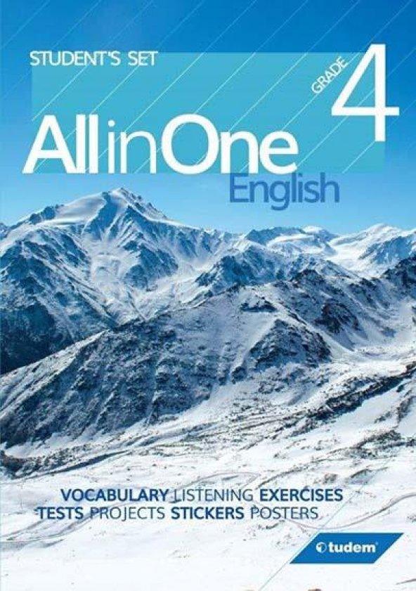 4.Sınıf İngilizce Konu Anlatım Tudem Yayınları