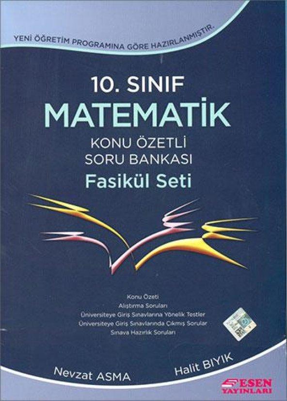 Esen 10.Sınıf Matematik Konu Özetli Soru Bankası Faskül Seti