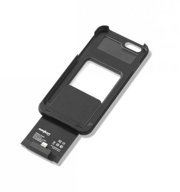 Minibatt QI ve PMA Uyumlu iphone 7 kablosuz şarj POWERCASE