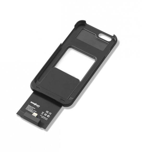 Minibatt QI ve PMA iphone kablosuz şarj POWERCASE – Iphone 7+
