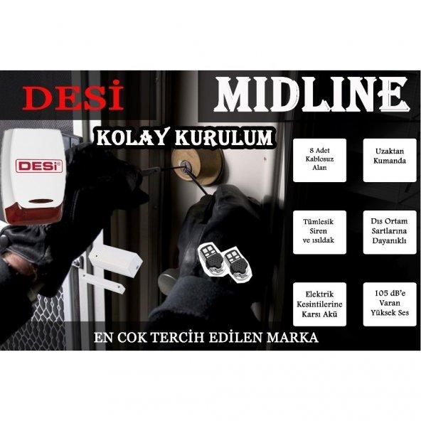 Desi Alarm DESİ Midline Alarm