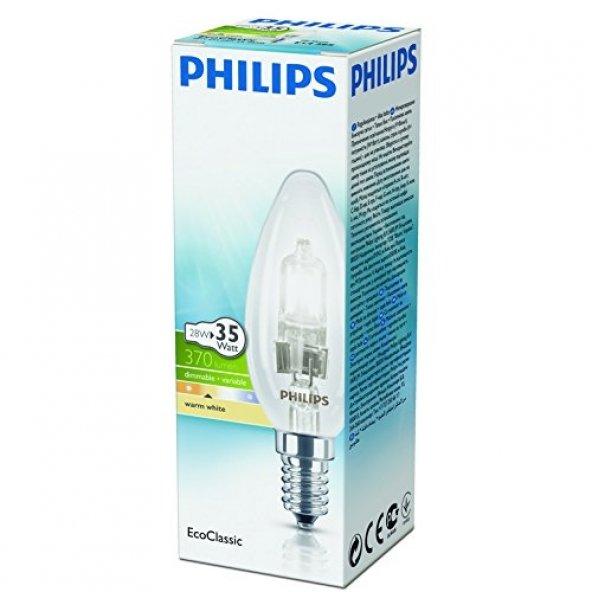 Philips EkoKlasik Tasarruflu Ampul 28W E14 230V B35 CL 1CT/30 -