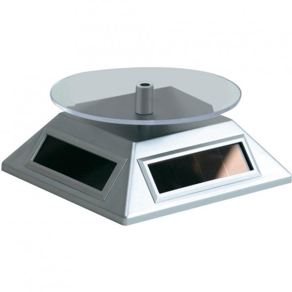 Güneş Enerjili Dönerli Stand (Silver)