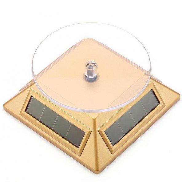 Güneş Enerjili Dönerli Stand (Gold)