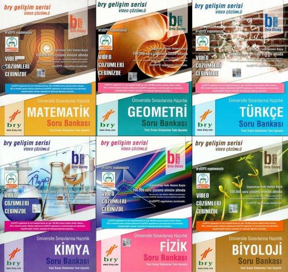 YKS Sayısal B Soru Bankası Seti Birey Yayınları