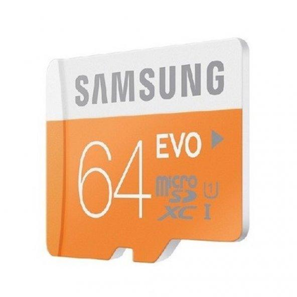 Samsung EVO 64GB Micro-SD Class 10 Hafıza Kartı