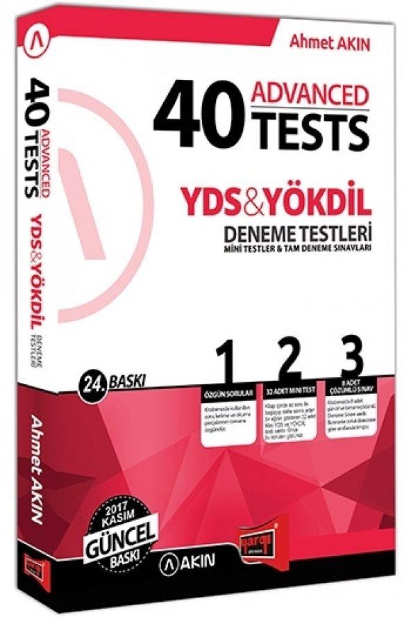 Akın Dil & Yargı Yayınları YDS & YÖKDİL 40 Advanced Tests