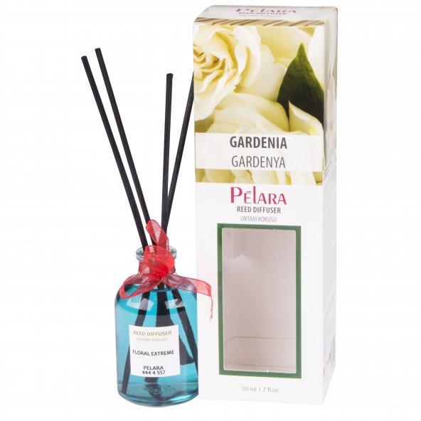 Pelara Gardenya Bambu Çubuklu Ortam Oda Kokusu 50 ml