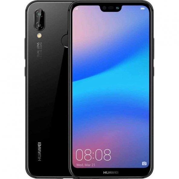 HUAWEI P20 LITE 64 GB TEK SIM CEP TELEFONU SİYAH /RENK SEÇENEĞİ VARDIR