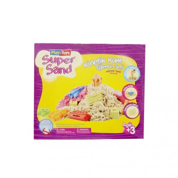 Play-Toys Super Sand Kinetik Kum Eğlence Seti 500