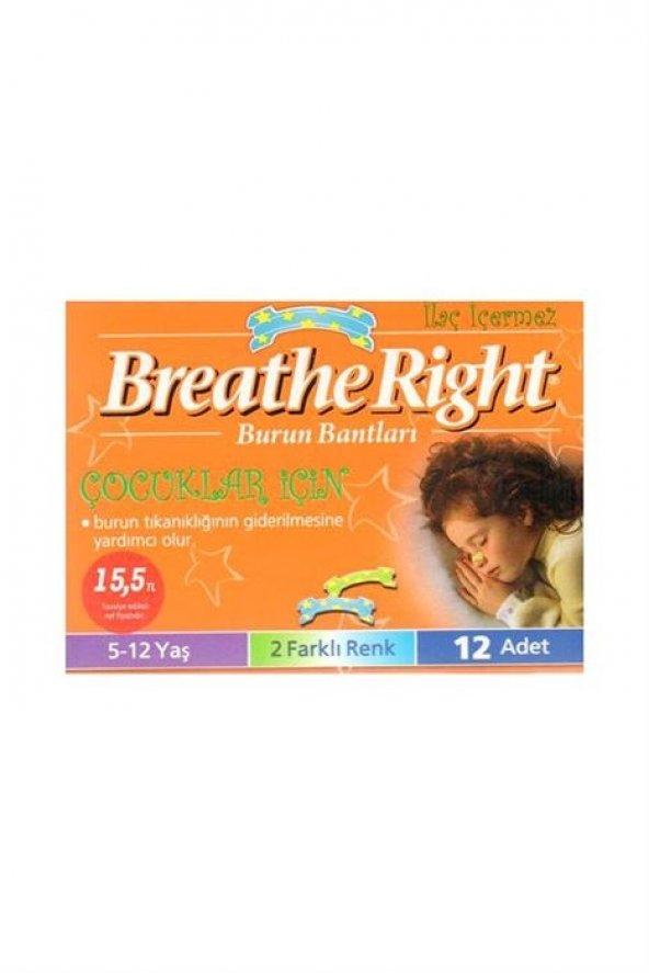 Breathe Right Çocuklar için (5-12yaş) Burun Bandı