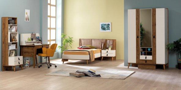 Genç Odası, Rodi (Amalfi) Karyola + Dolap + Çalışma Masası