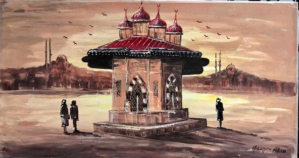 Art&Sanat Galeria Orijinal 70*130cm Yağlı Boya Tablo