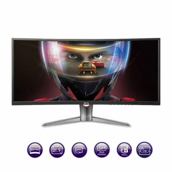 """BENQ 35"""" XR3501 4ms/144Hz Ultra Curved QHD Gaming AMVA Led Monitör XR3501"""