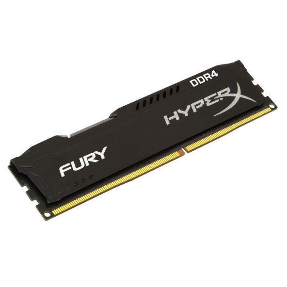 KINGSTON HX424C15FB2/8 Kingston Hyperx FURY Black 8GB DDR4 2400MHz Bellek