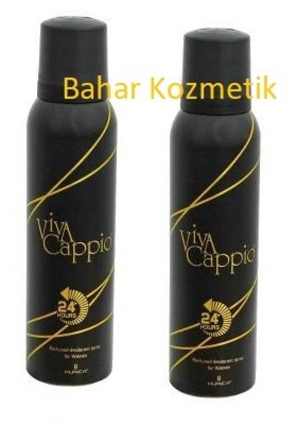 Viva Cappio Deodorant 150 Ml 2 Adet